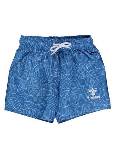 Hummel Weavy Yüzme Şortu Mavi